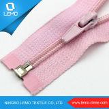 3 # Zipper en nylon coloré avec curseur mixte