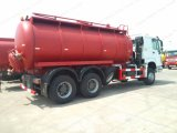 Sinotruck Suction-Type Sewer Scavenger 6cbm-16cbm Tanker Suction Sewage Truck