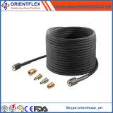 Câble en acier flexible tressé nettoyeur haute pression flexible en caoutchouc