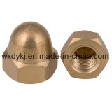 Bonne qualité Brass Brass Hexagon Dome Nut