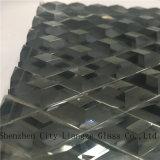 Vidrio del vidrio/arte del vidrio laminado/arte/vidrio Tempered con de oro ligero para la decoración