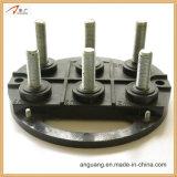 Plaque à bornes de moteur électrique noir de couleur avec les goujons M16