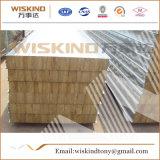 150 milímetros 80kg/M3 grueso ignifugan el panel de emparedado de la azotea de las lanas de roca