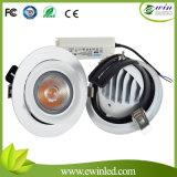 8 Zoll vertiefter Kardanring LED Downlight PFEILER 40W