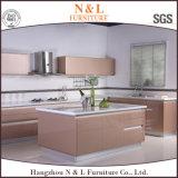 Мебель кухни MDF самомоднейшей мебели дома типа деревянная