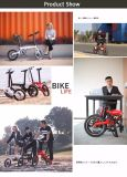 Bici elettrica di mini piegatura di 16 pollici/bici nascosta della batteria E