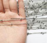 Quente-Vendendo a colar da jóia da forma da corrente do grânulo do aço inoxidável (SSNL2631)