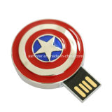 USB impermeável Pendrive do metal da memória Flash do USB dos Avengers