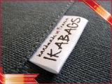 Contrassegno principale del contrassegno della stampa del cotone molle principale dell'indumento