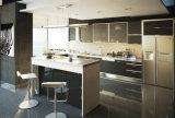 現代アメリカの現代的な台所家具