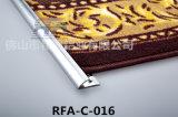 Bande de luxe en aluminium de couverture de barre de porte d'accessoires de tapis