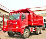 Sinotruk HOWOのブランド6*4鉱山のダンプトラック