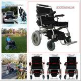 金モーターFoldable力の車椅子か電動車椅子、1second折りたたみ