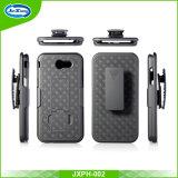 Cassa combinata del telefono della custodia per armi di alta qualità con la clip della cinghia e Kickstand per Samsung J3