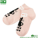 Носки лодыжки шаржа киски кота изготовленный на заказ оптовые