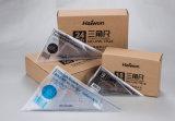 A régua brandnew de Haiwen ajusta a embalagem do PVC das réguas 2PC do triângulo do escritório 24cm