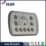 Par de preto do farol de LED de 8 polegadas de Substituição da Luz de Trabalho para Jeep Wrangler Jk 2 Porta 4 Porta Defensor Landrover