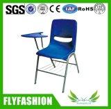 백지장 훈련 의자를 가진 플라스틱 학생 의자