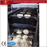Cadena de producción del chapati de la torta de los pasteles de la torta de la mano de la empanada del Taco de la tortilla