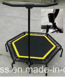 51 '' Gymnastic Fitness Jumping Rebounder Trampoline avec Handle Bar