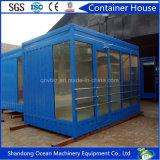 Casa del envase de la calidad fácil de la asamblea y de Hight con el material de construcción de la estructura de acero
