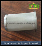編まれた金網のステンレス鋼のカートリッジフィルター