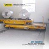 Transversal électrique pour le chariot horizontal à transport de bobine