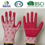 Le latex a enduit des gants de travail de sûreté de jardin