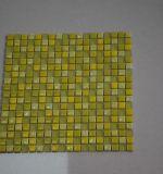 Mattonelle di mosaico verde chiaro di cristallo con i reticoli liberi