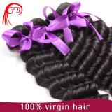 Extensão profunda brasileira do cabelo humano da onda de Remy