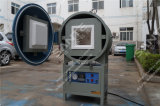 Vuoto di uso del laboratorio che riscalda il forno a resistenza elettrico con il doppio portello