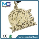 Médaille promotionnelle personnalisée du football en métal