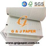 Papier de tableau thermique médical de Ctg de qualité dans la taille différente