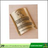 Metallaluminiumdrucken-Kennsatz-Flaschen-Aufkleber