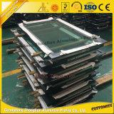 OEM de lingotes de aluminio perfil de aluminio del marco de puerta por puerta corrediza de vidrio