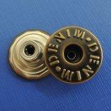 Материал Classicl античный латунный в медной кнопке хвостовика для джинсыов (HD2184-17)