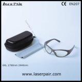 Het Type van sporten van de Bescherming Eyewear van de Laser & de Bril van de Veiligheid van de Laser voor de Lasers van 2780nm & van 2940nm ER met Grijze Frame55