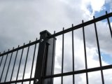 L'usine 868 a soudé la double frontière de sécurité de treillis métallique (XMM-DW0)