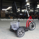 접히는 3 바퀴 전기 관광 차량 기동성 전기 스쿠터 500W