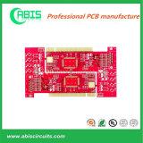 De rode Raad van de Kringen van het Masker van het Soldeersel PCB 2.0mm van 2 Lagen (SNELLE DRAAI 24H-48H)