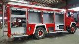 Carro de la lucha contra el fuego de HOWO 4X2 8cbm