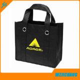 PPの非編まれたショッピング・バッグの戦闘状況表示板のハンドル袋
