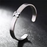 Het Roestvrij staal van het Paar van de Juwelen van de manier draagt de Open Armband van de Armband van het Manchet