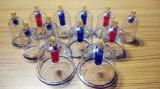 Vácuo ajustado copos colocando dos dispositivos médicos do instrumento