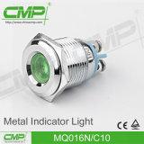 indicatore luminoso di indicatore elettrico della lampadina di segnalazione di 16mm