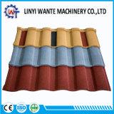 Tuile de toit romaine de construction de matériau en métal enduit coloré de pierre