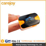 Oxímetro de pulso con dedo de dedo Oxígeno de sangre SpO2 Saturación con monitor de Oximetro-Candice