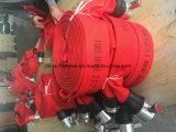 販売のためのサポートされたOEM ODMサービス赤いカラーPVC材料によって使用される消火ホース