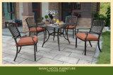 Présidence en aluminium de patio de présidence extérieure de meubles pour le jeu de Tableau