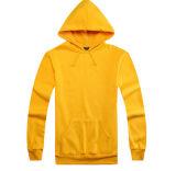 Пальто пуловера втулки Hoodies женщин и людей вскользь длиннее
